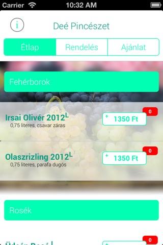 Deé Pincészet screenshot 1