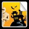 Halloween-Stickerbuch