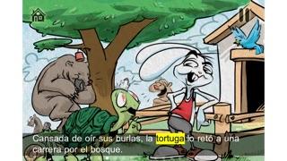 La Tortue et le Lièvre – Livre – Mémoire – PuzzleCapture d'écran de 3