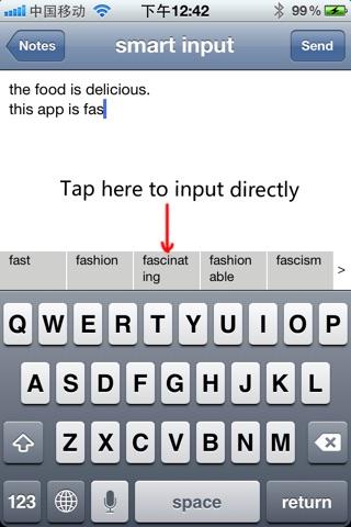 Type Fast Lite screenshot 1
