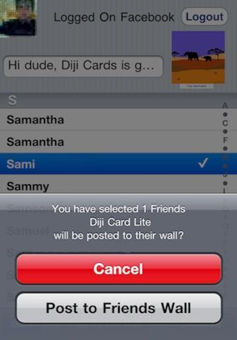 Diji Cards Lite screenshot 3