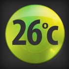 Thermometer & Battery Level icon