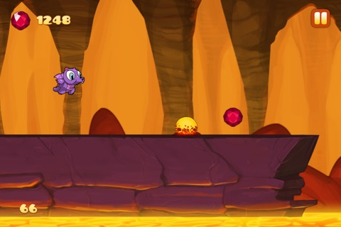 Run Dragon Baby - Free Jump Lava for Magic Gems Edition screenshot 4