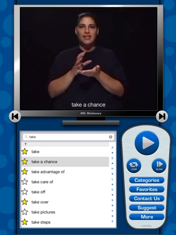 ASL Dictionary for iPad screenshot 4