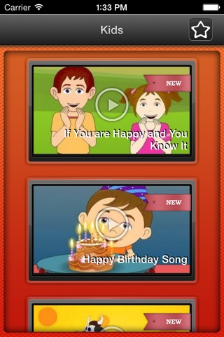 Videos for children from 6 to 8 years - tutorials and songs for kids screenshot 2