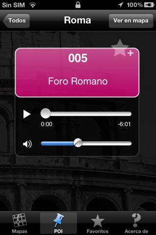 Roma audio guía turística (audio en español) screenshot 3