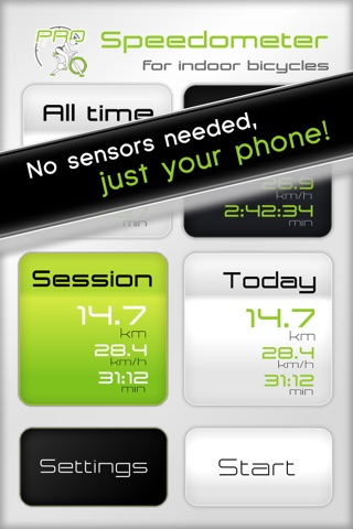 Speedometer for Indoor Cycling Pro screenshot 1