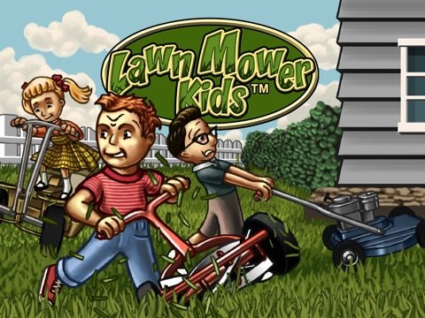 LawnMowerKids Screenshot