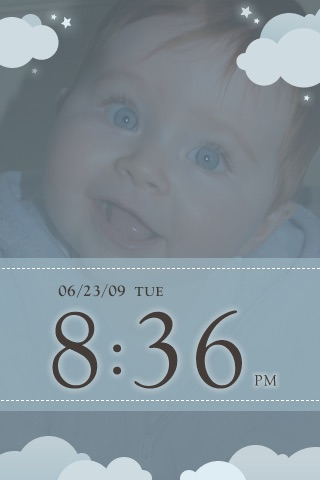 My Baby Clock screenshot 2