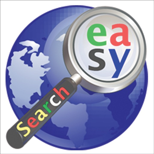 Google Easy Search for iPad, the only app to search facebook, twitter, myspace, youtube, gmail, google docs, bing, etc.