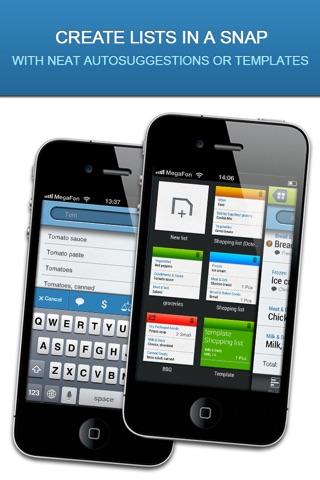 Listick Lite: Grocery Shopping List screenshot 2