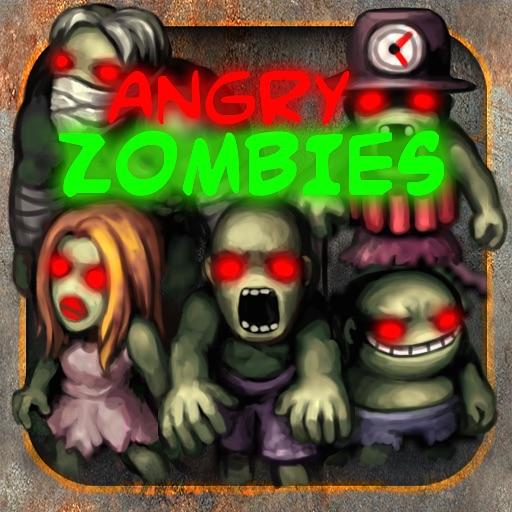 愤怒的僵尸:Angry Zombies !!【另类触屏操控】