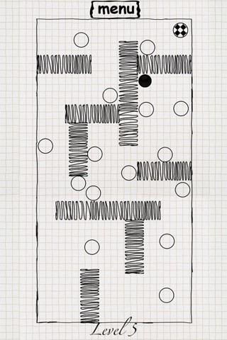 Paper Maze Balls screenshot 3