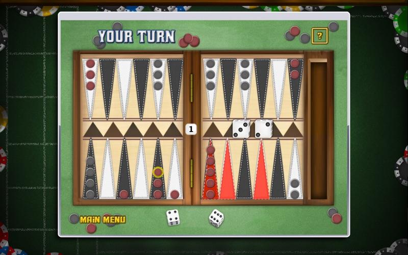 Backgammon Deluxe! Screenshot