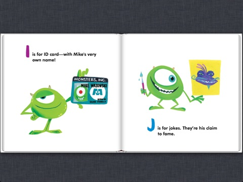 monsters inc m is for monster de disney book group sur