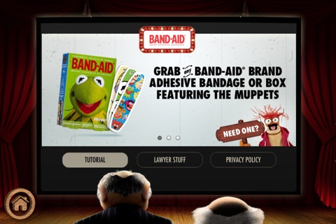 BAND-AID® Magic Vision Starring Disney's® the Muppets screenshot 2