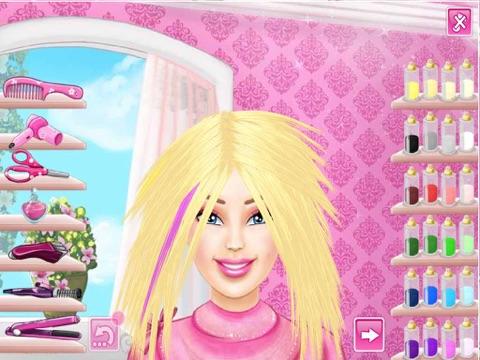 игра прически макияж играть