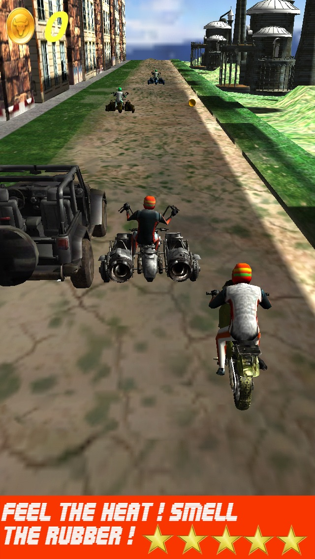 Screenshot of Bike Drag Racing Games: Le Migliori Moto e Fuoristrada Giochi di Corse 3D (Gratis)1