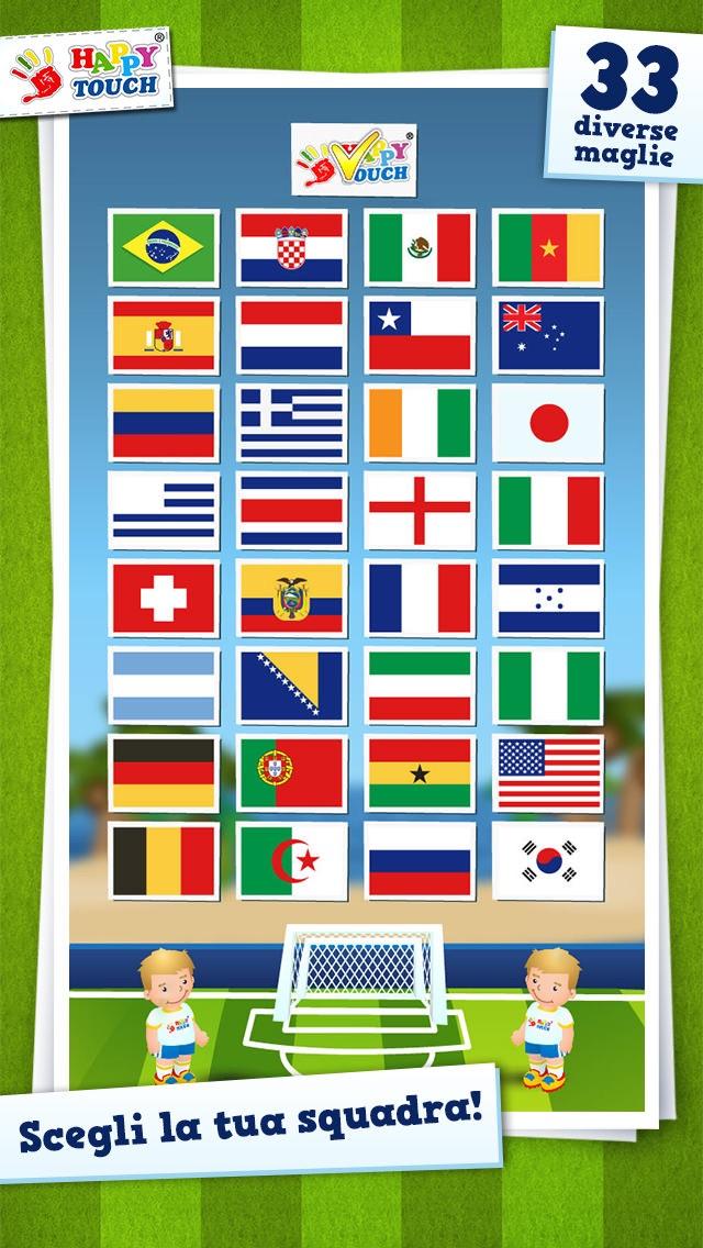 Screenshot of Giochi di calcio per bambini da Happy-Touch®2