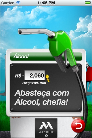 Alcool ou Gasolina, Chefia? screenshot 4