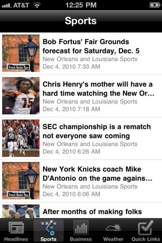 New Orleans Local News Free screenshot 1