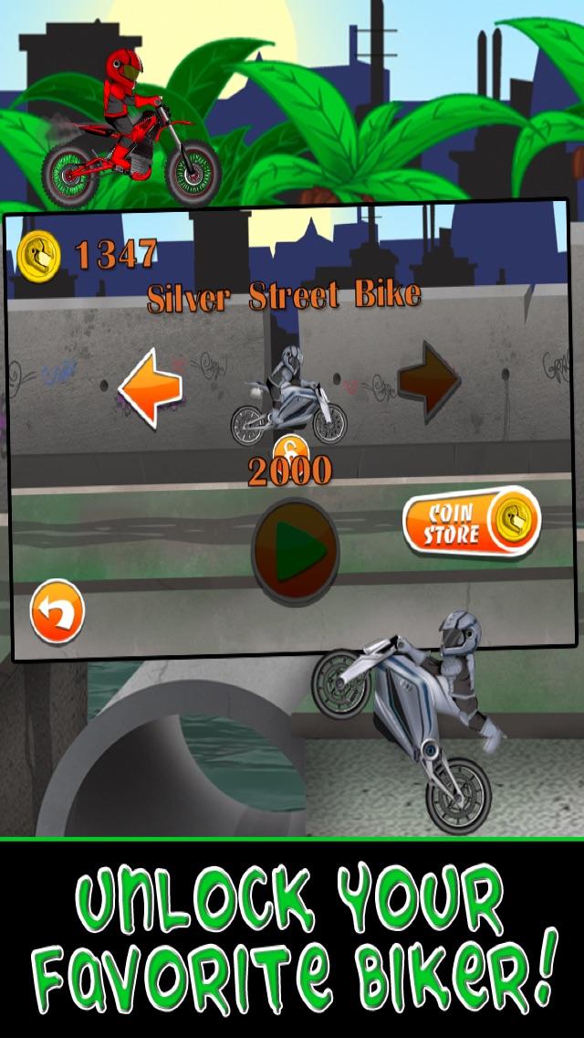 Screenshot of Moto Bike Race Escape: Racing Speed   da Mutant Sewer Rats & Tartarughe gioco - Multiplayer Shooter Edition3