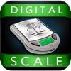 Digital Scale PRO (Bilancino digitale tascabile di precisione) - real weighing app for mobile device (AppStore Link)