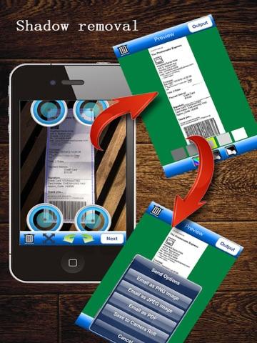 MyScan HD: scan document into PDFs screenshot 3