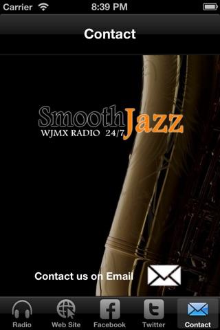 WJMX Smooth Jazz Radio screenshot 4