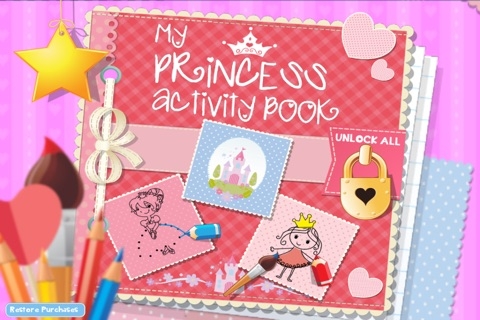 My Princess Activity Book screenshot 1