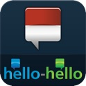 "Indonesian – Learn Indonesian (Hello-Hello) ""for iPhone"" icon"