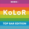 KoLoR Wallpaper : Top Bar Edition - Create Wallpapers with Colorful Top Bar