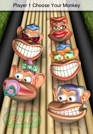Monkey Bowl Lite - Free Bowling Fun in the Jungle screenshot 2