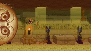 Screenshots of Oz the Explorer: Sand Temple Dash for iPhone