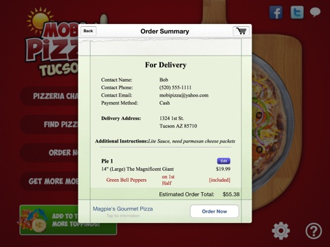 Mobi Pizza - Tucson screenshot 3