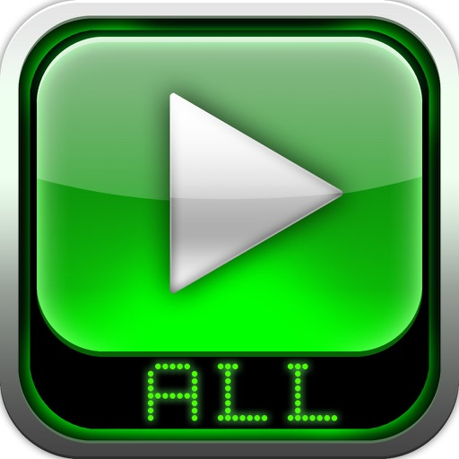 全能播放器:AVI, FLV, WMA, MPEG, RMVB, MP4 播放器