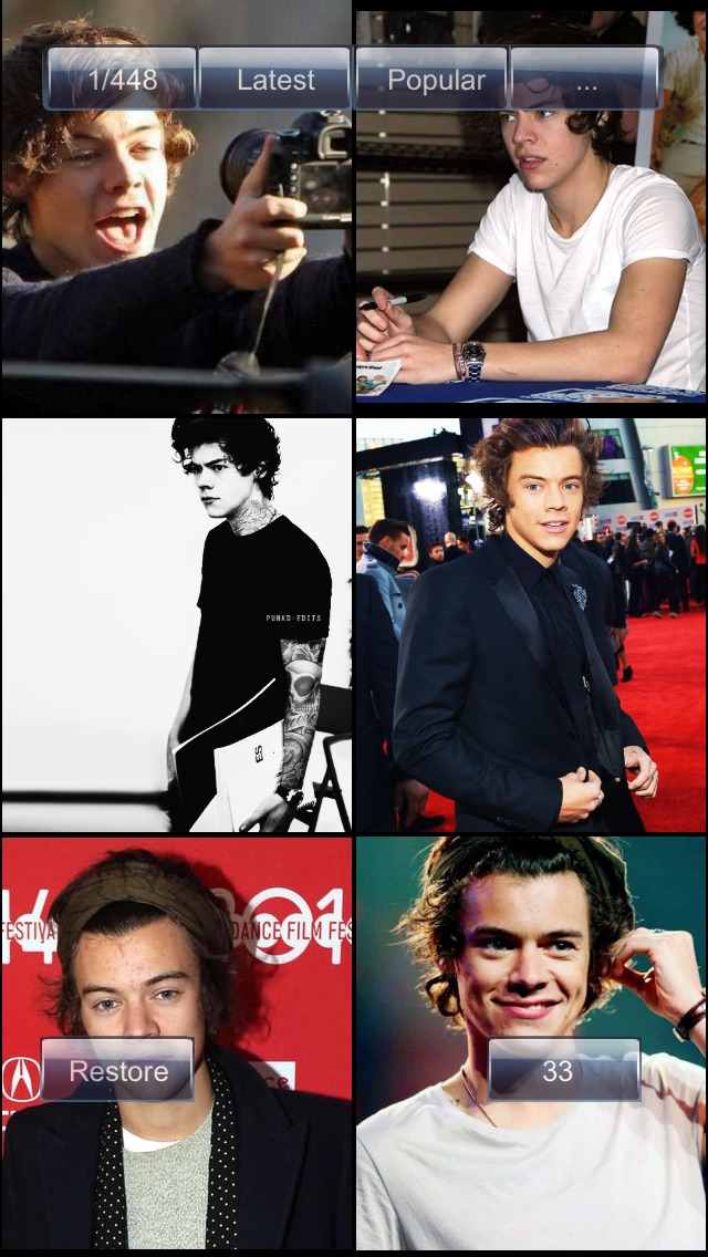 Wallpapers: Harry Styles EditionScreenshot of 4