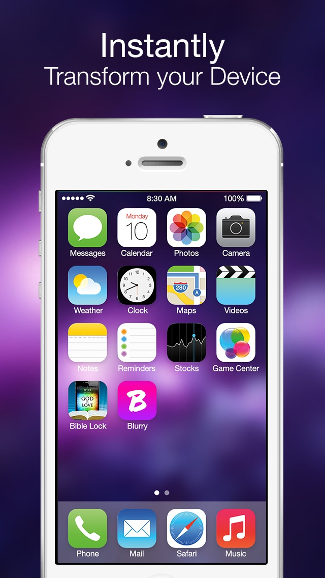 Blurry - Wallpapers for iOS 7Screenshot of 4