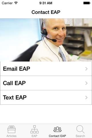 MLA EAP screenshot 4