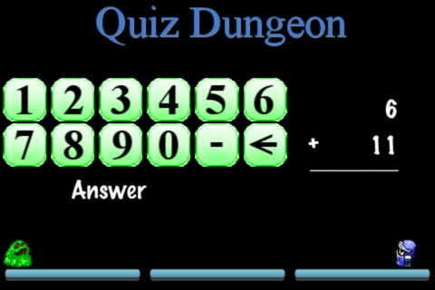 Quiz Dungeon (Math Edition) FREE screenshot 2