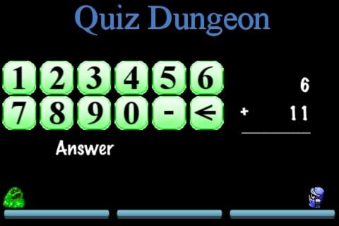Quiz Dungeon (Math Edition) FREE screenshot 2