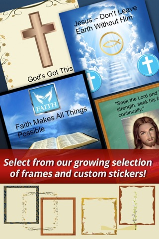 Pic Christian Pro - Christian Photo Collage App screenshot 3