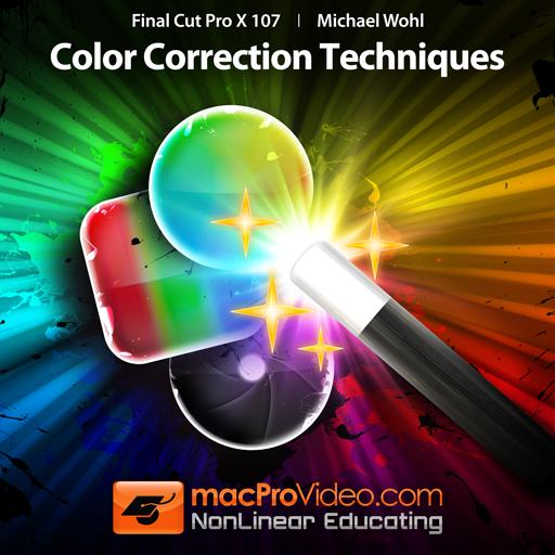 Course For Final Cut Pro X 107 - Color Correction Techniques