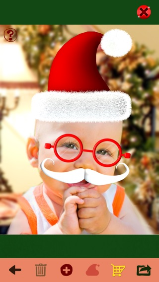 Santa me christmas photo booth make yourself and yr friends into iphone screenshot 4 solutioingenieria Image collections