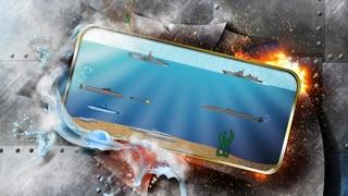 素晴らしい潜水艦戦闘艦 -無料で楽しい魚雷戦争ゲームです-のスクリーンショット2