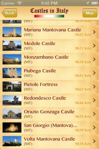 Castelli d'Italia Lite screenshot 3