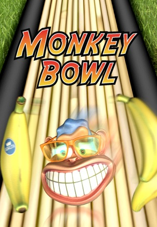 Monkey Bowl Lite - Free Bowling Fun in the Jungle screenshot 1