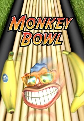 Monkey Bowl Lite - Free Bowling Fun in the Jungle screenshot 1