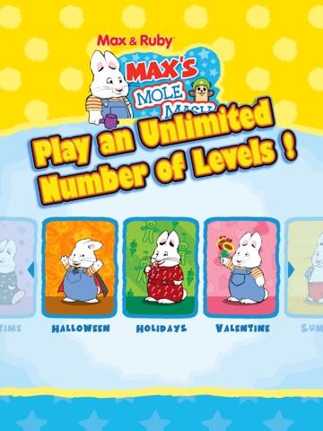 Max & Ruby: Max's Mole Mash on the App Store