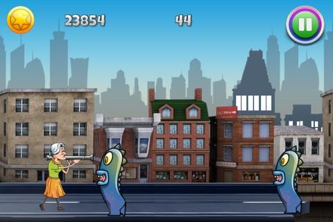 Granny Bazooka : Invasion of the Aliens screenshot 3